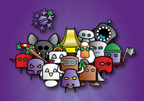 purple-set-arrangement